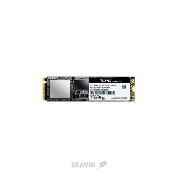 Фото A-Data XPG SX8000 128GB (ASX8000NP-128GM-C)