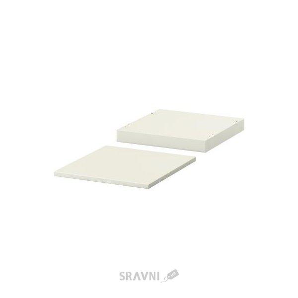Фото IKEA NORDLI Верхняя панель и цоколь, белый (002.727.17)