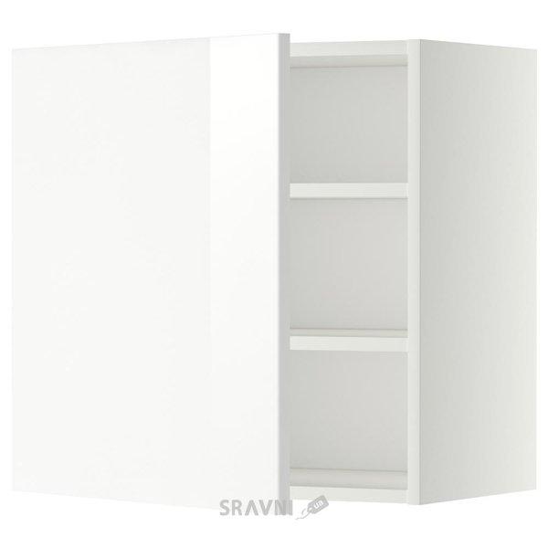 Фото IKEA METOD Шкаф навесной с полкой (599.184.85)