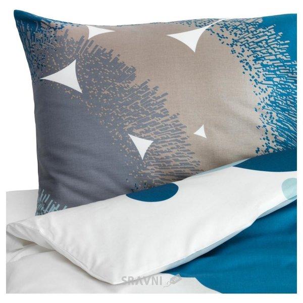 Фото IKEA 502.890.51 BOLLTISTEL синий 150x200