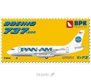 Фото BIG Пассажирский самолет Boeing 737-200 Pan American World Airways (Pan Am) (BPK7204)
