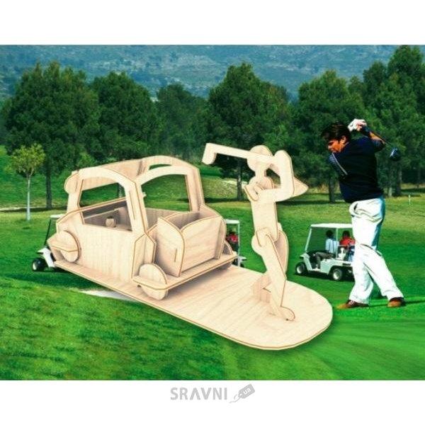 Фото Мир деревянных игрушек Игрок в гольф (С008)