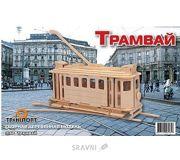 Фото Мир деревянных игрушек Трамвай (П150с)