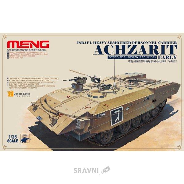 Фото Meng Model Израильский тяжелый гусеничный бронетранспортер «Ахзарит» (MENG-SS003)