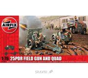 Фото Airfix Полевая пушка 25 PDR и тягач Quad (AIR01305)