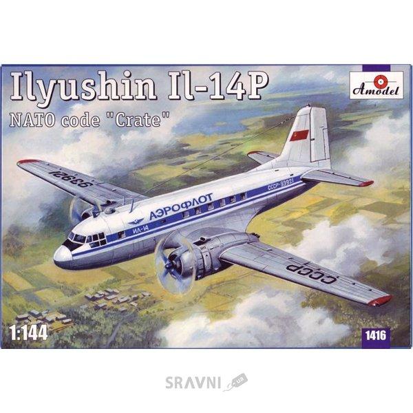 Фото Amodel Самолет Ильюшин Ил-14П (AMO1416)