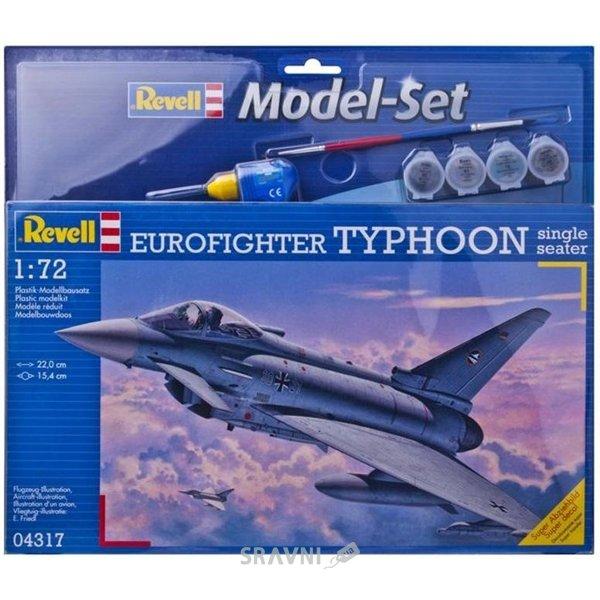 Фото Revell Истребитель Еврофайтер Тайфун (Eurofighter Typhoon). (RV64317)