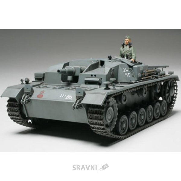 Фото TAMIYA Немецкая САУ Sturmgeschutz III Ausf.B (TAM35281)