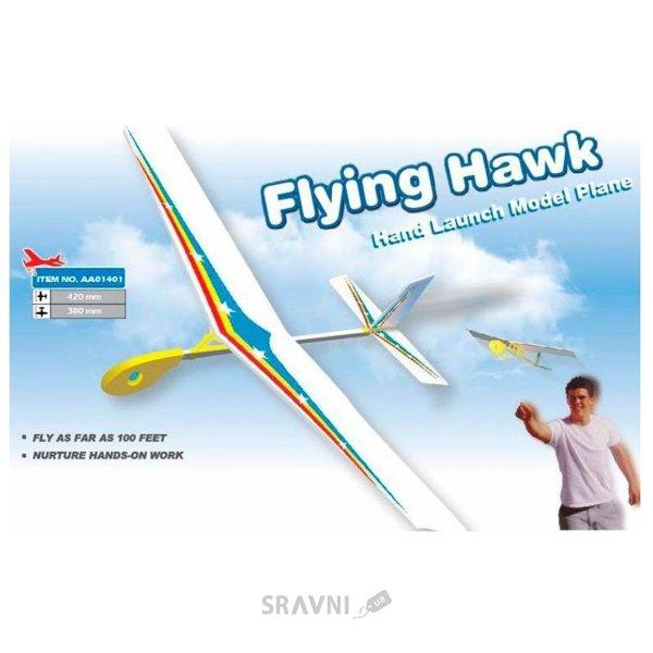 Фото ZT model Метательная модель самолета Flying Hawk (AA01401)