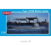 Фото Micro-Mir Подводная лодка типа XVIIB (MM144-006)