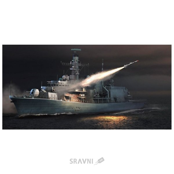Фото Trumpeter Английский фрегат HMS TYPE 23 – Monmouth(F235) (TR04547)