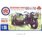 Фото AIM FAN Model Советский мотоцикл с коляской ПМЗ-А-750 AIM35006