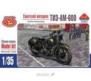 Фото AIM FAN Model Советский мотоцикл ТИЗ-АМ-600 с пулеметом ДТ AIM35001