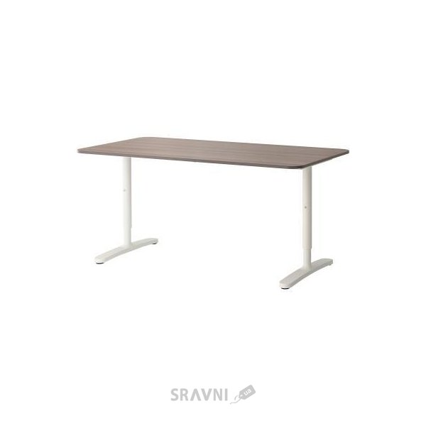 Фото IKEA BEKANT Стол 160x80h65-85 (090.228.04)