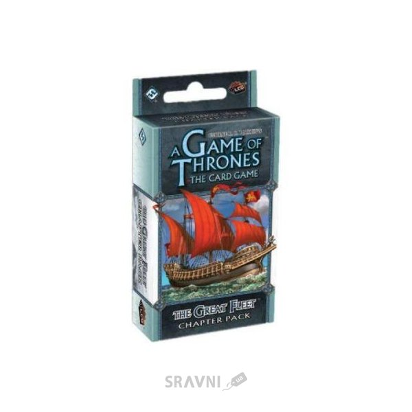 Фото Fantasy Flight Games A Game of Thrones: The Great Fleet Chapter Pack (13395)