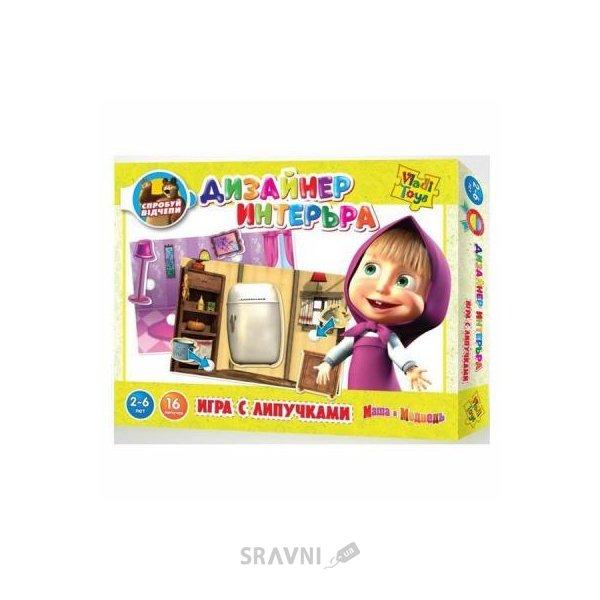 Фото Vladi Toys Дизайнер интерьера. Маша и Медведь (VT2305-03)