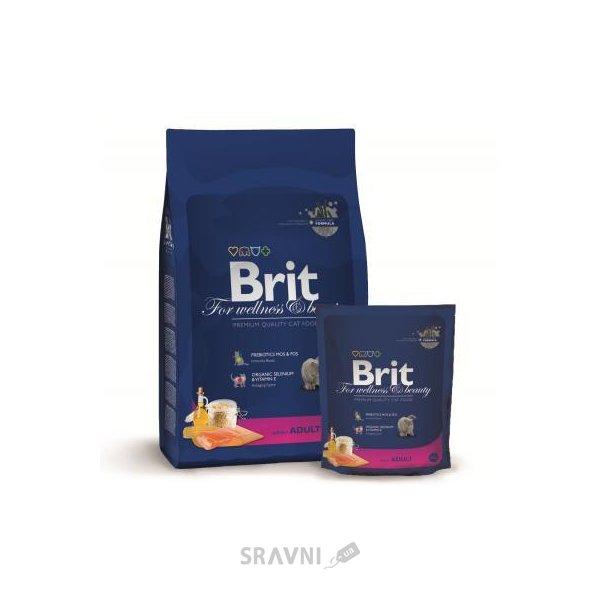 Фото Brit Premium Cat Adult Salmon 0,3 кг