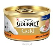 Фото Gourmet Gold с индейкой 0,085 кг