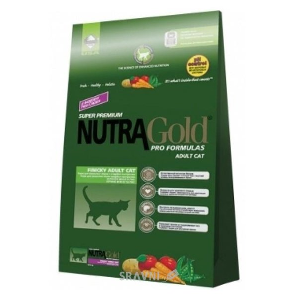 Фото NutraGold Hairball Adult 1 кг