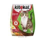 Фото Kitekat Сухой корм Мясной пир 1 кг