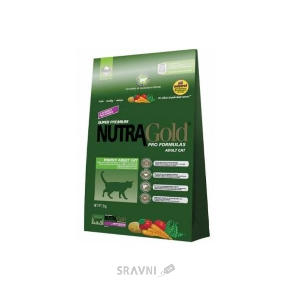 Фото NutraGold Hairball Adult 0,1 кг