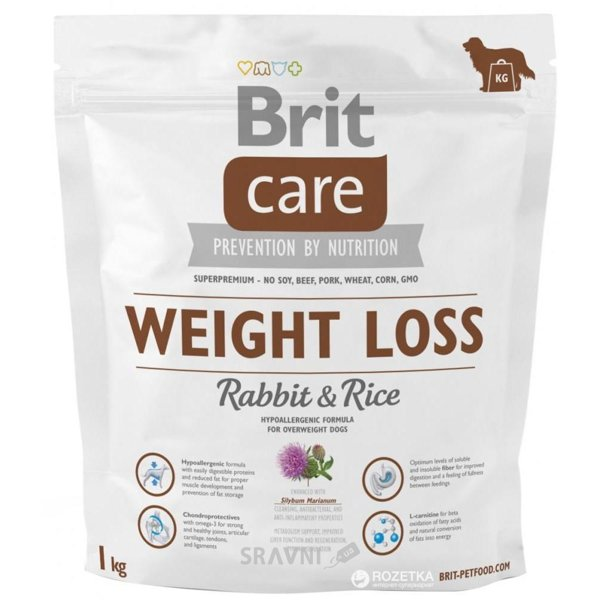 Фото Brit Care Weight Loss 1 кг
