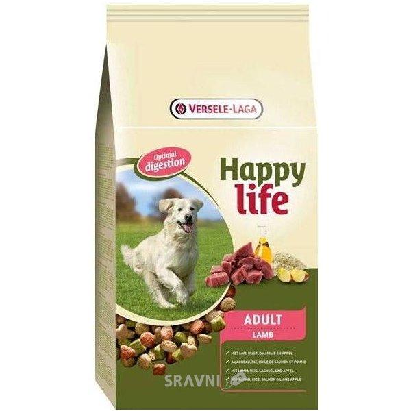 Фото Happy Life Adult Lamb 3 кг