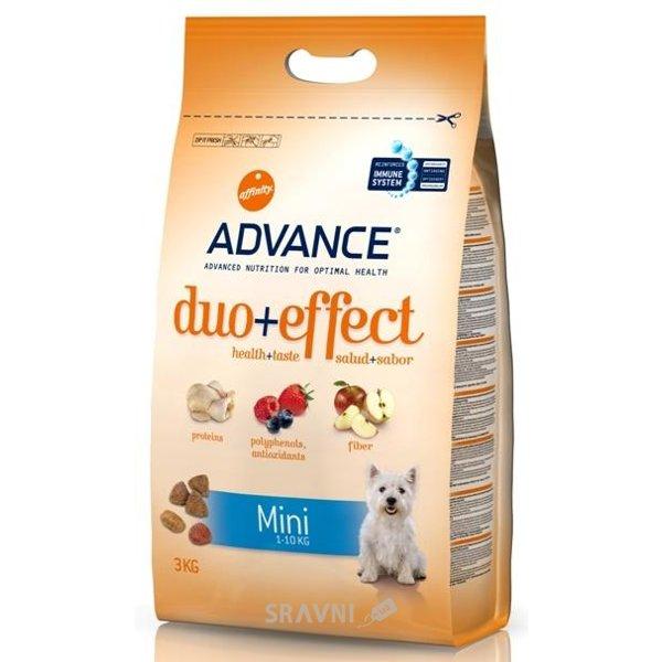 Фото Advance Duo+Effect Mini Adult для взрослых собак 3 кг