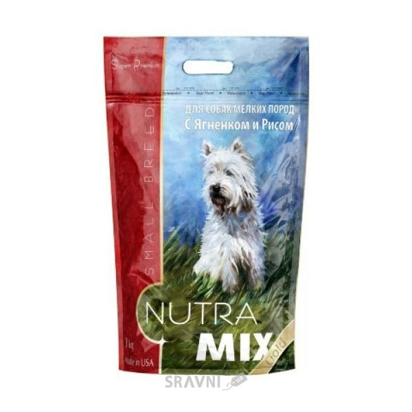 Фото Nutra Mix Gold Small Breed Lamb & Rice 3 кг