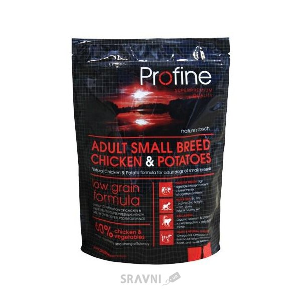 Фото Profine Adult Dog Small Breed Chicken & Potatoes 3 кг