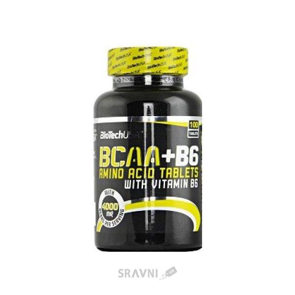 Фото BioTech BCAA+B6 100 tabs