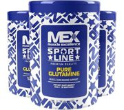 Фото MEX Pure Glutamine 454g (91 servings)