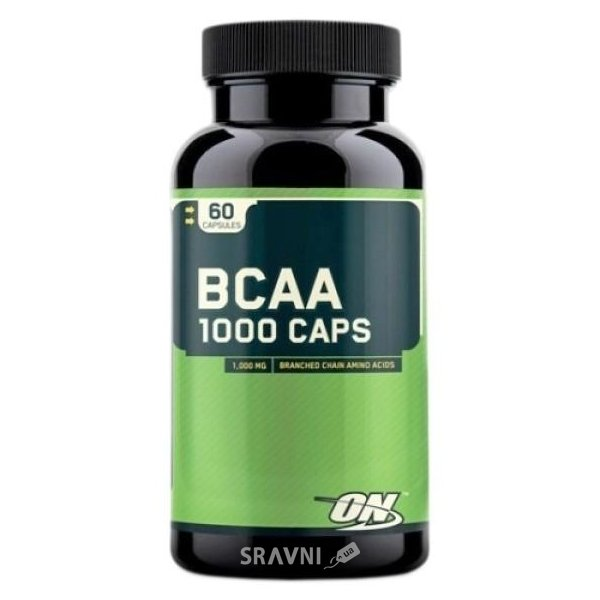Фото Optimum Nutrition BCAA 1000 Caps 60 caps