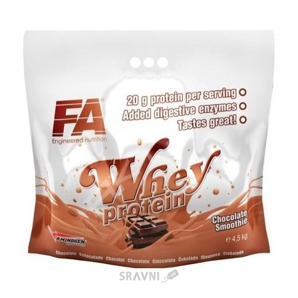 Фото FA Nutrition Whey Protein 4500 g (140 servings)