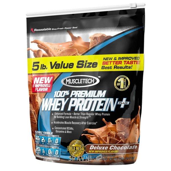 Фото MuscleTech 100% Premium Whey Protein Plus 2267 g