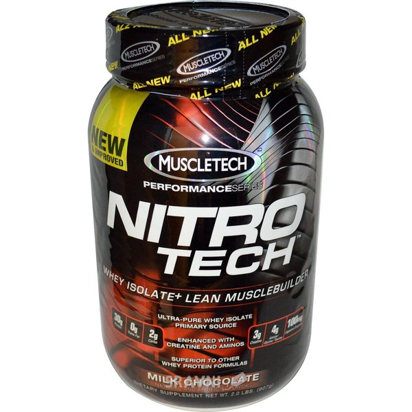 Фото MuscleTech Nitro-Tech 907 g