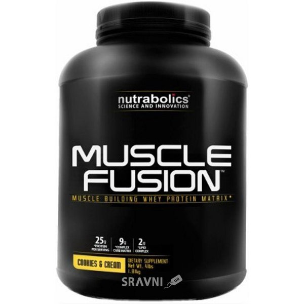 Фото Nutrabolics Muscle Fusion 1810 g (45 servings)