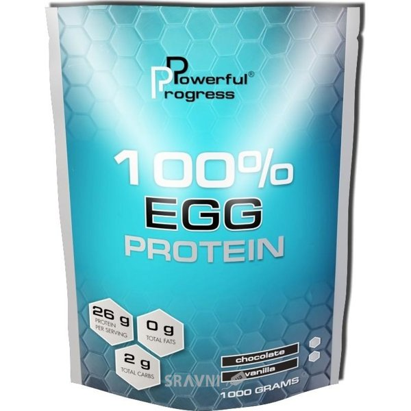 Фото Powerful Progress 100% EGG Protein 1000 g (33 servings)