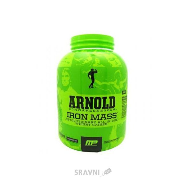 Фото MusclePharm Arnold Iron Mass 2270 g