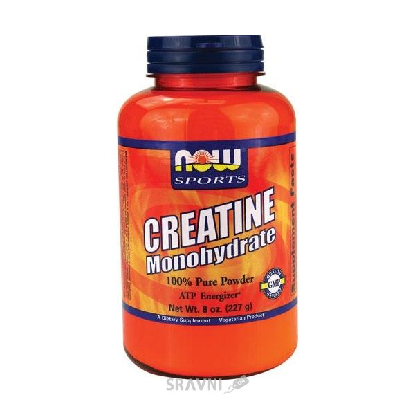 Фото Now Sports Creatine Monohydrate 227 g (45 servings)