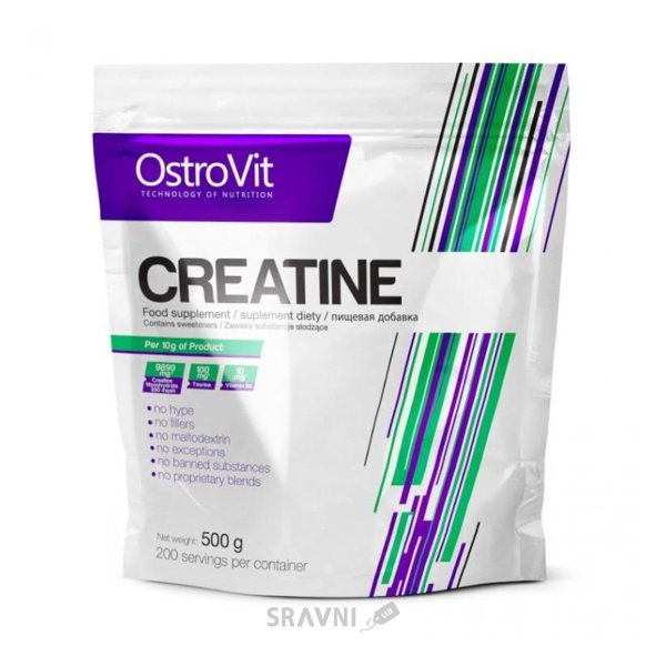 Фото OstroVit Creatine 500 g (200 servings)