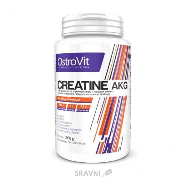 Фото OstroVit Creatine AKG 200 g (80 servings)