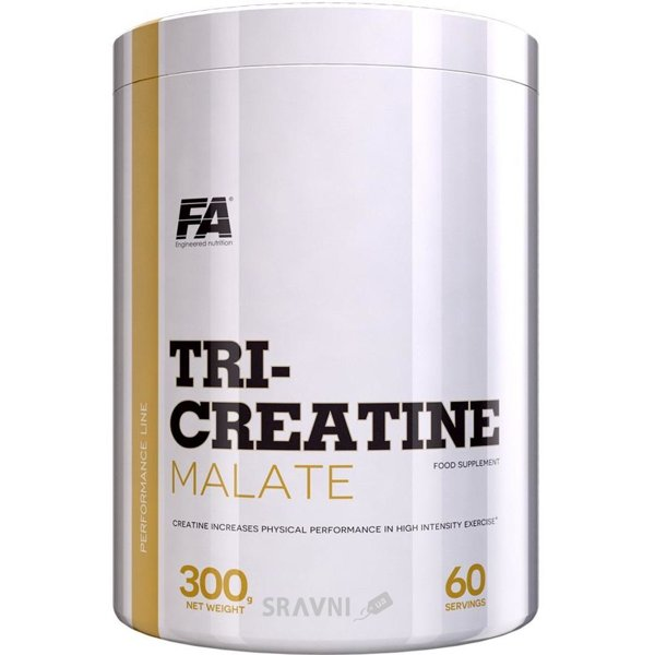 Фото FA Nutrition Tri-creatine malate 300 g