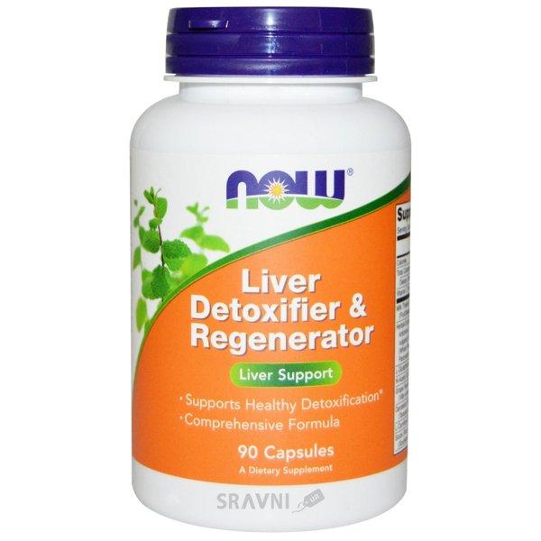 Фото Now Liver Detoxifier & Regenerator 90 caps