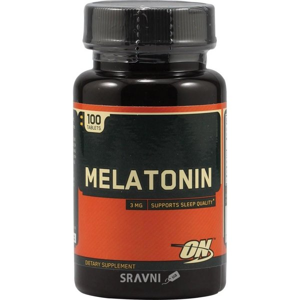 Фото Optimum Nutrition Melatonin 3 mg 100 tabs