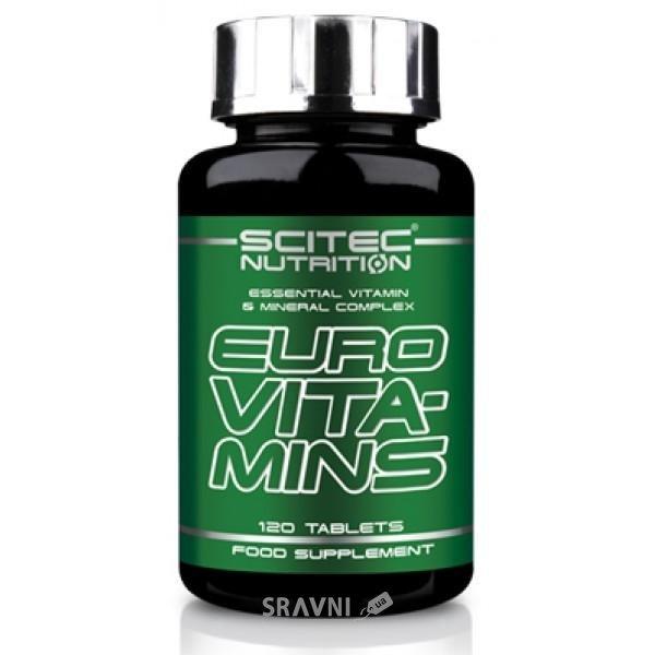Фото Scitec Nutrition Euro Vita-Mins 120 tabs