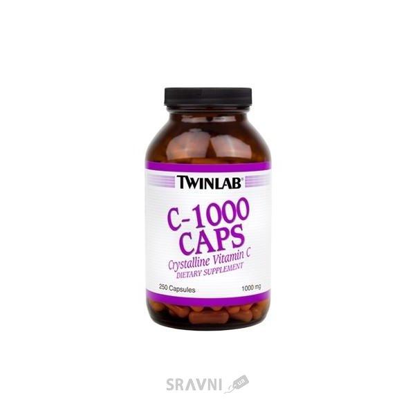 Фото Twinlab C-1000 Caps 250 caps