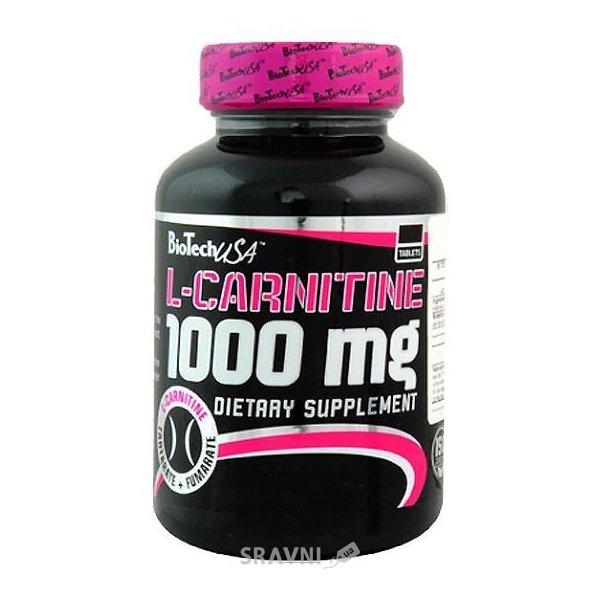 Фото BioTech L-Carnitine 1000 mg 60 tabs