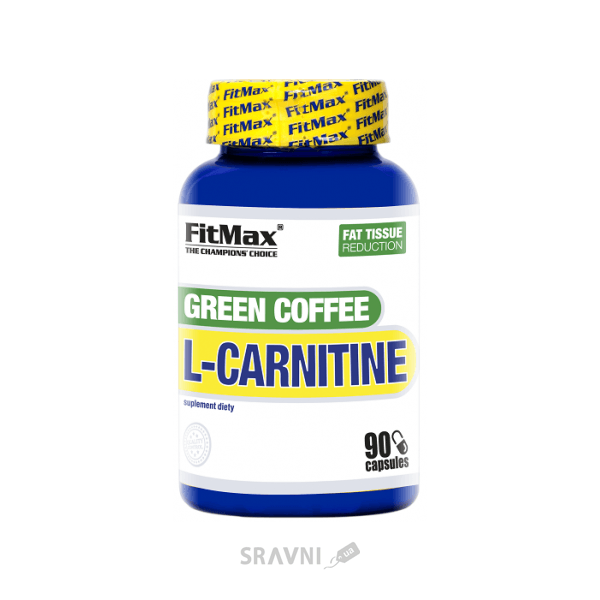 Фото FitMax Green Coffee L-Carnitine 90 caps