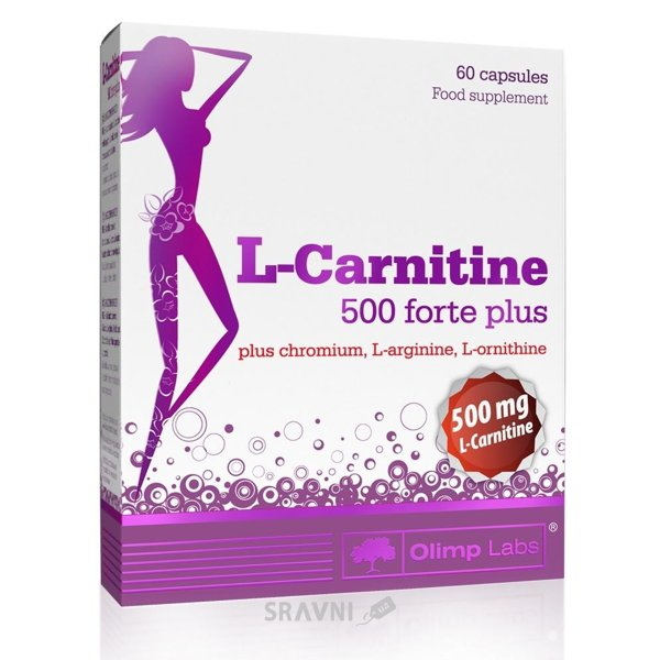 Фото Olimp L-Carnitine 500 Forte Plus 60 caps